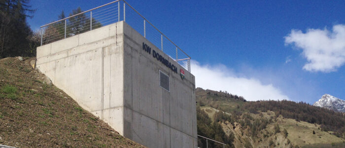 Kleinwasserkraftwerk Ferden